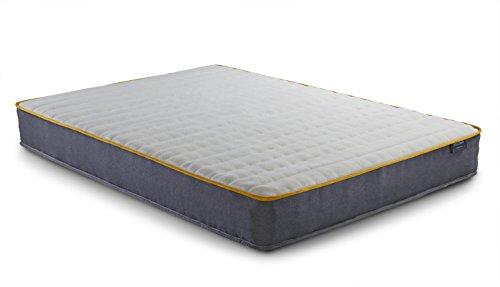Birlea SleepSoul Comfort 800 Pocket Memory Mattress, Polyester, White, 23 x 190 x 135 cm, Double
