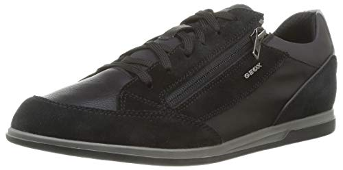 GEOX U RENAN A BLACK Men's Trainers Low-Top Trainers size 42(EU)