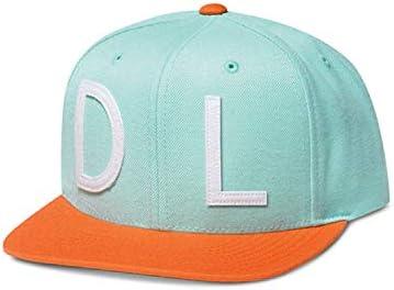 Diamond Supply Co Snapback Hat D L Blue product image