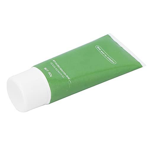 Crema depilatoria suave, fácil de usar, crema depilatoria indolora para el vello corporal de las extremidades para hombres y mujeres