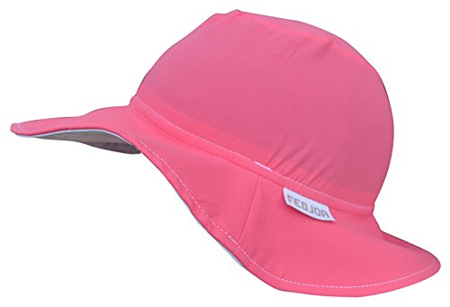 FEDJOA - Chapeau Anti-UV – Bébé – Fille - Hawai - 3-4 Ans