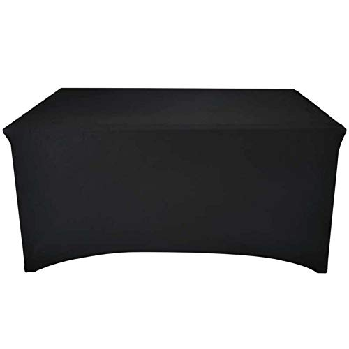 Werkapro 11350 - Funda de protección para Mesa de jardín en Exteriores, Anti Rayos UV, 240 x 74 x 74 cm, Color Negro
