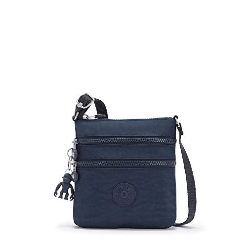 Kipling womens Keiko Mini Crossbody Bag, Blue Bleu 2, 8 L x 9 H 1.25 D US