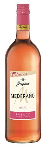 Mederaño Rosado Wein, l Cuvée l halbtrocken l fruchtig leicht l für gemütliche Abende mit Freunden (1 x 1 l)