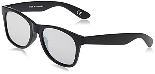 Vans Spicoli Flat Shades Gafas de Sol, Negro (Black/Silver Mirror), 50.0 para Hombre