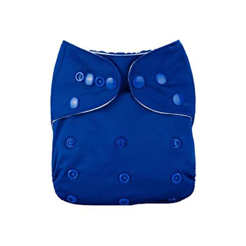 Exceart Baby Stoff Taschenwindeln Verstellbar Waschbar Wiederverwendbare Einfarbige Windel für Baby Trägt Zufällige Farbe
