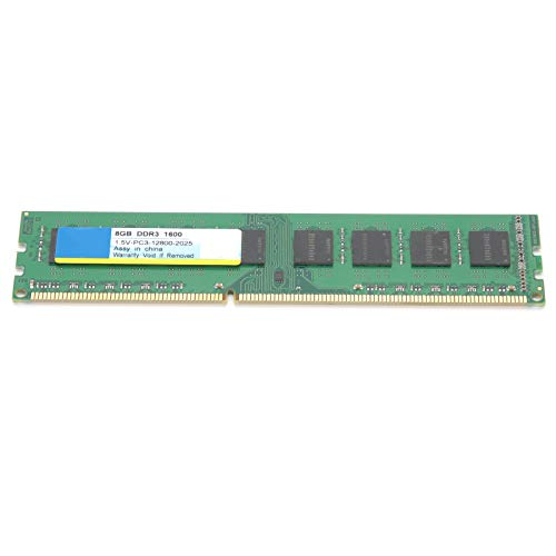 Tomanbery PC3-12800 Barra de Memoria de computadora Módulo de Memoria de Memoria de computadora de Escritorio 1600Mhz Compatible con AMD