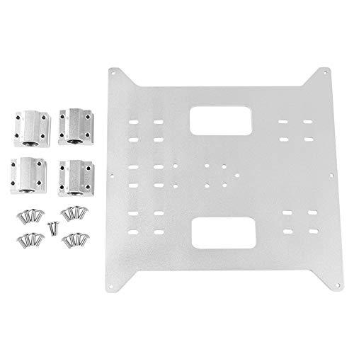 Gaoominy Ersatz Upgrade Aluminium Y Achse Wagen Aluminium Platte + Sc8Uu Slider Kit für Wanhao Hersteller Ausw?Hlen Duplizierer I3 und I3 Mega