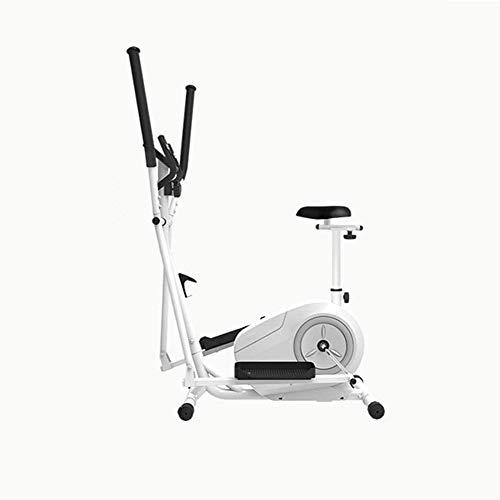 Máquina elíptica Bicicleta elíptica, Rotary 8 velocidad ajuste de la resistencia, de dos vías control magnético de Silencio del volante, de cuatro vías Asiento adjustmen, 3 en 1 Cardio Home Office eje