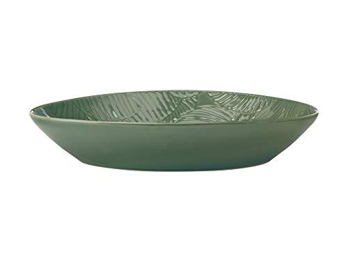 Maxwell & Williams DR0316 Panamá - Fuente ovalada en caja de regalo, gres, 32 x 23 cm, color verde