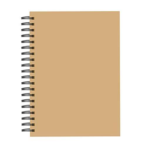 Almencla Quaderno per Schizzi a Spirale Carta Da Disegno Artistica 30 Fogli Sketchbook Note per La Pittura - 29.7x21CM
