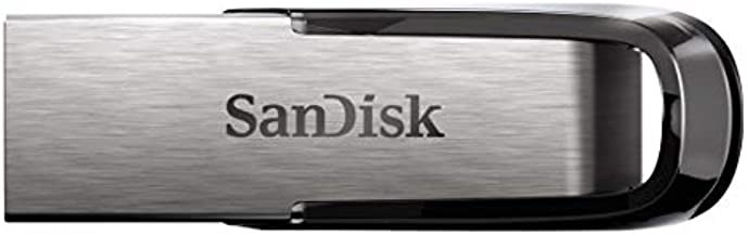 SanDisk 64GB Ultra Flair USB 3.0 Flash Drive - SDCZ73-064G-G46, Silver