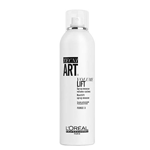 L'Oréal Professionnel TecniART Volume Lift, Rootlift spray-mousse, houdingsgraad 3, 250 ml