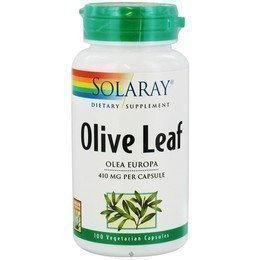 Solaray Olive Leaf 300mg 100 Vcaps - CLF-SR-1071 from Solaray