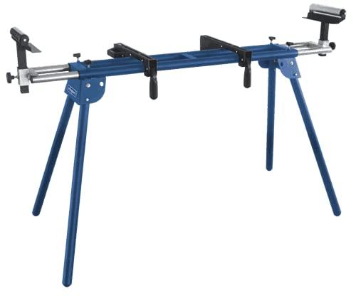 Scheppach Untergestell für Kappsägen UMF2000 (Höhe 845 mm, Seitenverlängerung 1,16 – 2,0 m, Traglast 250 kg, Auflagebreite 384 mm)