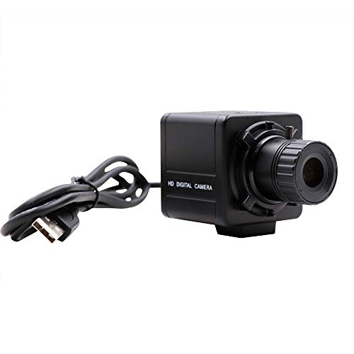 High Speed 60fps Full HD 1080P 2MP WDR USB Camera with Mini Case with CS Manual Fixed Focus Lens