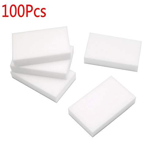 Schmutzradierer/Reinigungsschwamm, Melamin, multifunktional, weiß, 100Stück
