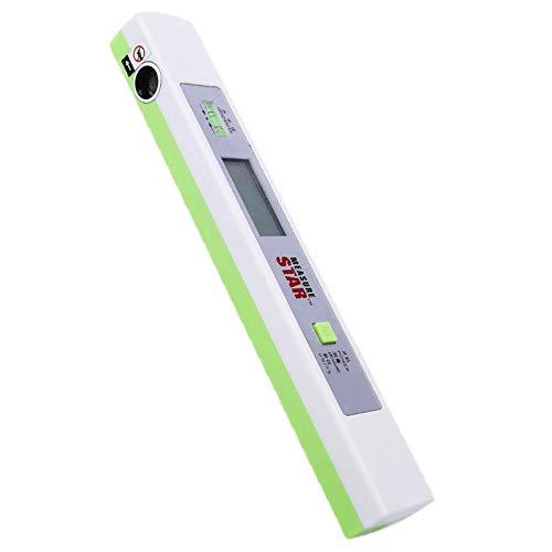 FUYIN 超音波身長計 高さ測定器 高度計 3秒迅速な測定 LEDハイビジョン表示 簡易測定 水平バーを表示 大人/子供/家庭用 (グリーン)