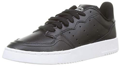 adidas SUPERCOURT J, Scarpe da Ginnastica, Core Black/Core Black/Ftwr White, 38 EU