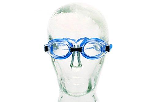 Aqua Speed Lumina Nuoto Occhiali (Lenti ottiche per correggere miopia, incrementi di Mezzo Passo da -1.5 a -6.0 e -7.0 e -8.0; Anti-Nebbia, Protezione UV), -2.0; Lumina/Blu/Non colorato