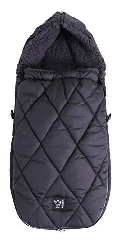 Kaiser 6576325 XL TOO Thermo Sherpa - Forro polar universal (1 kg), color negro
