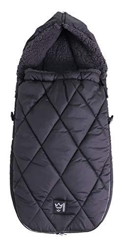 Kaiser 6576325 XL TOO Thermo Sherpa Fleece Universal, schwarz, 1 kg