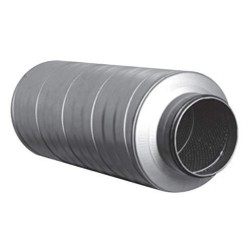 MKK Telefonieschalldämpfer Schalldämpfer Wickelfalzrohr Lüftung Rohr 100 mm Dämmung DN 150-600 mm