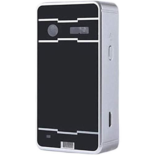 TTZZ Bluetooth-Laserprojektion Projektierte Tastatur Tragbare Virtuelle Laser-Tastatur & Maus Wireless Für Ios Android-Smart Tablets Laptops-PC-Computer (Silber + Schwarz)