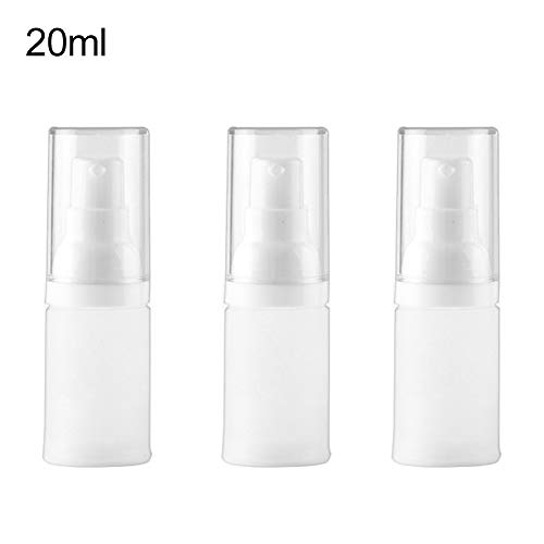 Bodhi2000 Lot de 3 flacons de lotion vides rechargeables pour lotion liquide facile à transporter