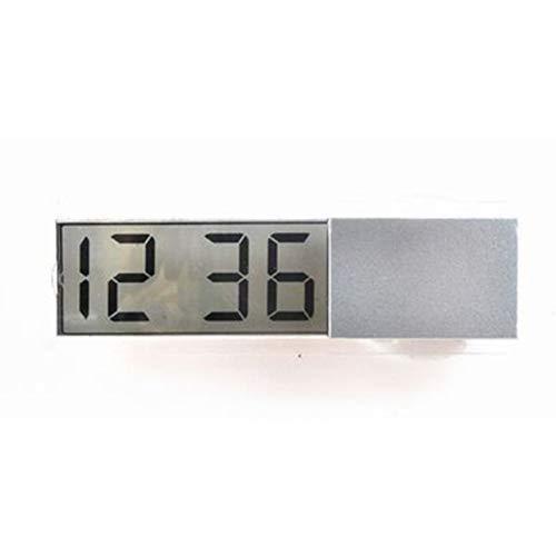 Shenykan Relojes electrónicos para automóviles Accesorios para automóviles Reloj electrónico para automóviles Reloj con Ventosa K-033 Horario de aparatos para automóviles - Plata
