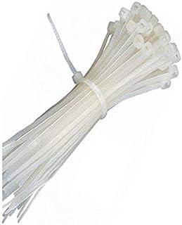 Plastic drawstring bag 100 pcs - 30 Cm - White