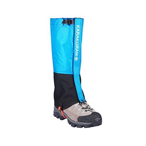 XMYNB Botas de Lluvia Leggings De Nieve Impermeables Senderismo Botas Leggings Zapatos Calzo Cubiertas De Zapatos Viajes Al Aire Libre-Blue,XS (35-37)