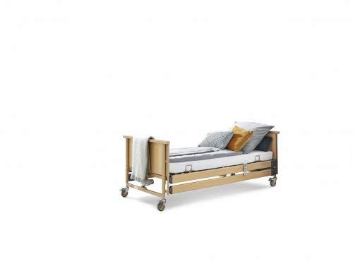 Burmeier Pflegebett Dali Standard mit Holzseitengitter
