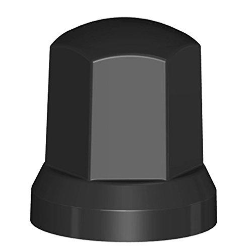 Fahrzeugbedarf Wilms Lot de 40 cache-écrous de roue en plastique noir SW 33 / 49 x 54 pour remorque de camion NFZ