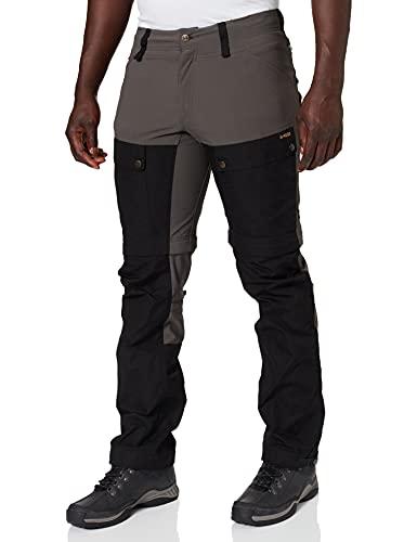 Fjällräven Keb Gaiter Trousers M Pantalon de Sport Homme, Black/Stone Grey, FR : M (Taille Fabricant : 48)