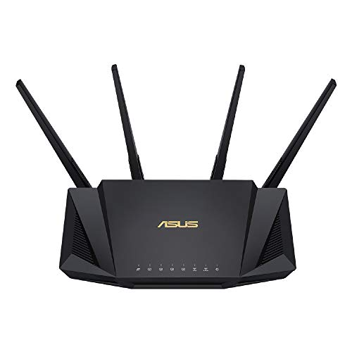 ASUS WiFi 無線 ルーター WiFi6 2402+574Mbps デュアルバンド RT-AX3000【 メッシュ機能付 】【 3階建/4LDK 】【PS5/Nintendo Switch/iPhone/android 対応】