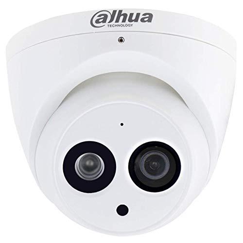 Dahua 6MP Dome Camera HDW4631C-A 2.8mm IP PoE Eyeball IP67 Bulit in Mic Indoor Network Dome Camera International Version