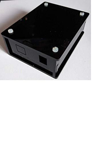 Diamex Carcasa para placa de desarrollo Arduino de plexiglás, color negro lacado
