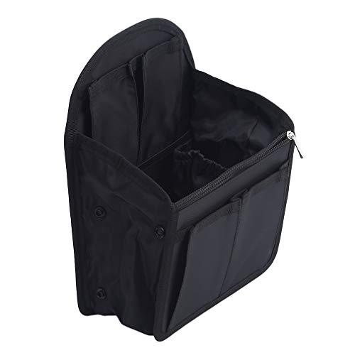 QIHang - Bolsa de viaje para maquillaje, organizador de gran capacidad, portátil, bolsa de almacenamiento de viaje