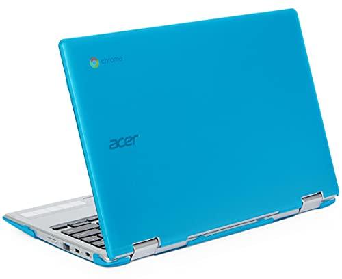 mCover Carcasa rígida compatible con Acer Chromebook Spin 311 CP311-2H Series Convertible (no compatible con otros modelos de Acer) (Aqua)