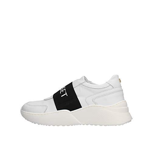 Twin Set Running Logo Sneaker Bianca da Bambino 201GCJ024