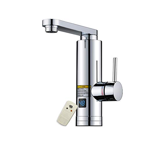 Electric Hot Water Taps-Instant Electric Faucet Bathroom Sink Heater Fast Heat Speed Hot Water Hot Home Kitchen Treasure