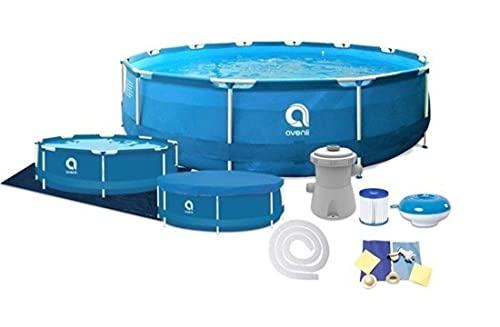 Avenli Frame Pool Piscina Desmontable Tubular Pool 305x76 cm - con filtros y Bomba