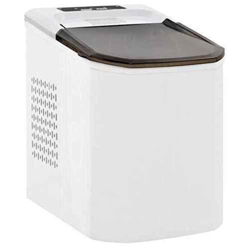 vidaXL Eiswürfelbereiter 1,4 L 15kg/24h Eiswürfelmaschine Eiswürfel Ice Maker
