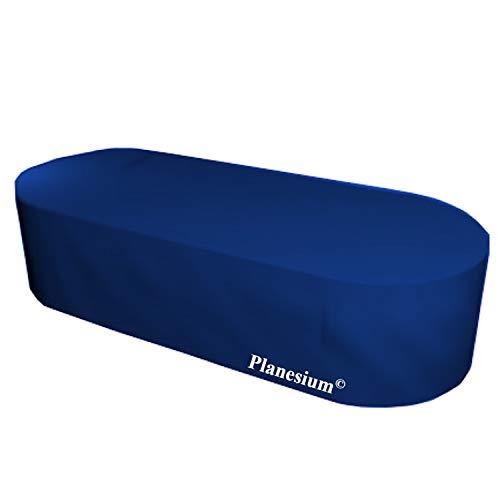 Housse de Gartenstuhl-Kissen Housse de protection premium ovale 170 cm x 100 cm x 70 cm Bleu Foncé