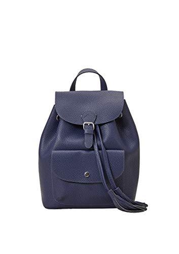 s.Oliver (Bags Damen 39.902.94.8816 Rucksack, Blau (Dark Royal), 12x25x25 cm