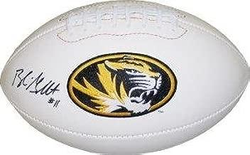 Blaine Gabbert signed Missouri Tigers Logo Football - Autographed College Footballs