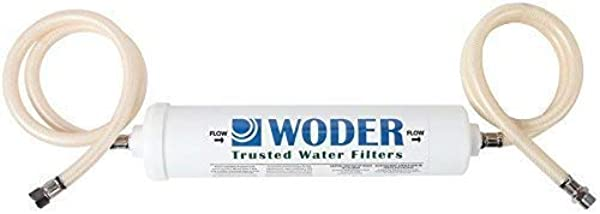 Woder 5K DC Ultra High Capacity Direct Connect Bathroom Under Sink Water Filter 5 000gal Premium Class 1 USA Made