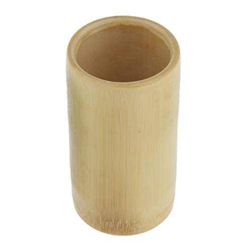 Bonarty Vide De Bambou Naturel De Massage De Salon SPA D'aspiration De Ventouses D'aspiration De Massage - M