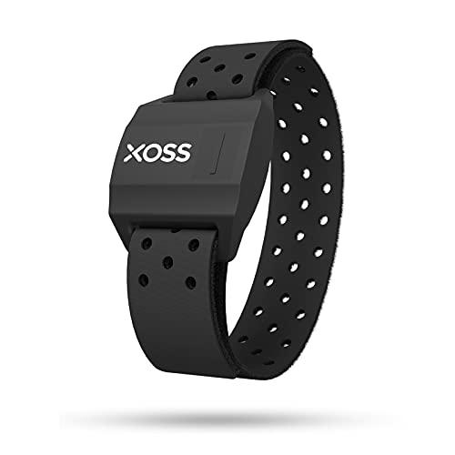 XOSS 心拍計アームバンド ハートレートモニター Bluetooth 4.0&ANT+ ワイヤレス ハートレート ヘルスアクセサリー (黑)